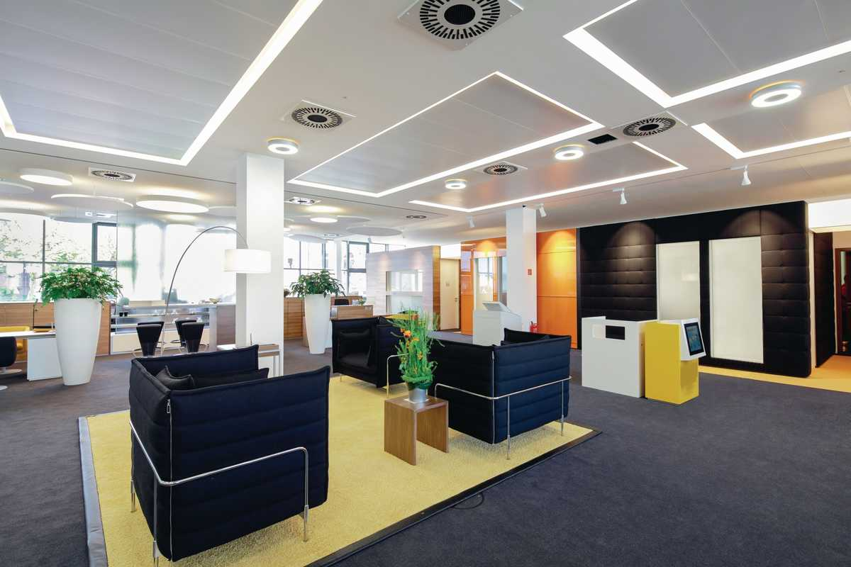 ceiling heating and cooling panels